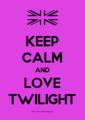 keep calm <333 - twilight-series photo