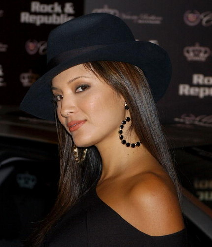 Kelly Hu fondo de pantalla possibly with a fedora entitled kelly hu