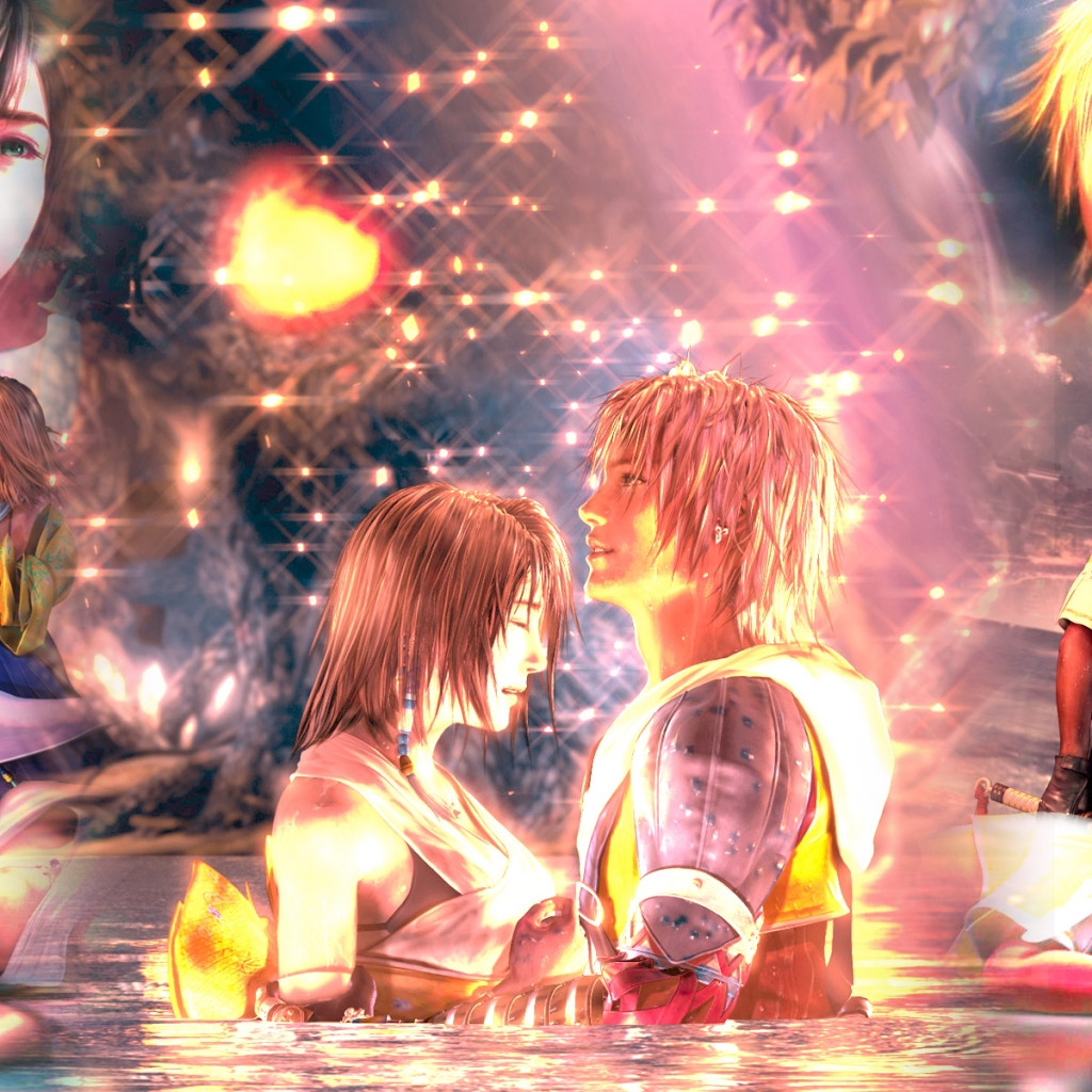 Yuna And Tidus Hd Wallpapers