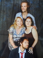 me and laurie (our photo with Jared & misha