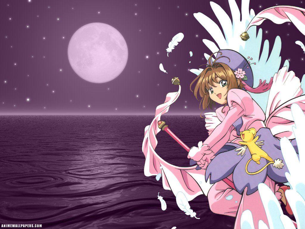shaosaku hình nền possibly with anime titled sakura and kero