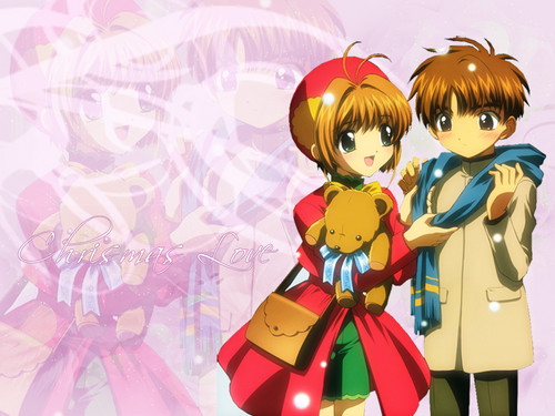 sakura and syaoran animê