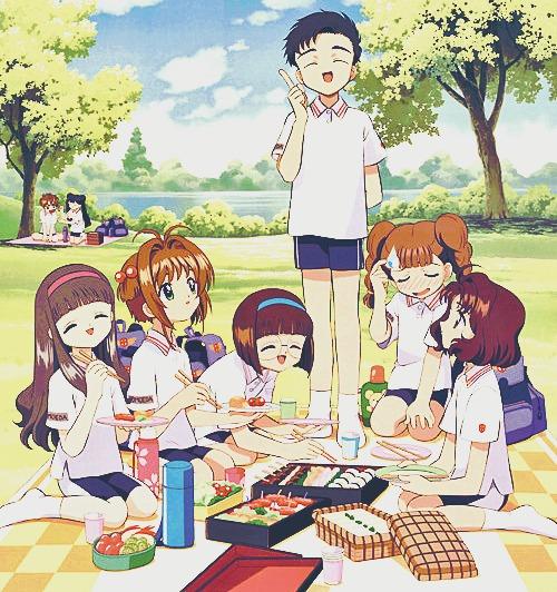 sakura's friends