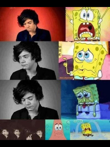 spongebob & Harry