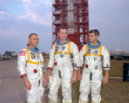 the Apollo 1 launch pad feu that killed astronauts Gus Grissom, Roger Chaffee and Ed White