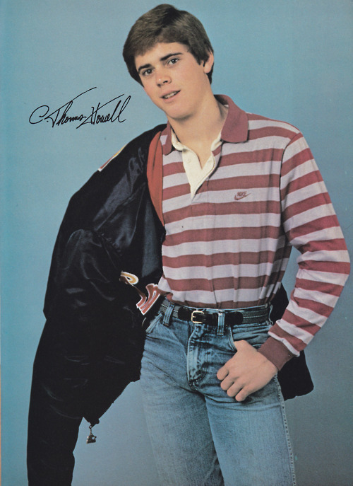 the outsiders -... C. Thomas Howell In The Outsiders