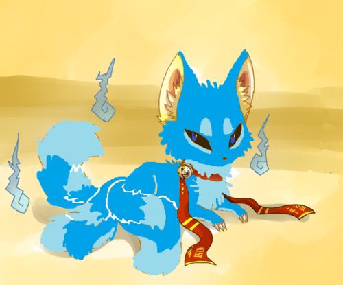 true blue vos, fox