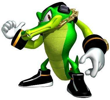 vector the krokodil sonic heroes