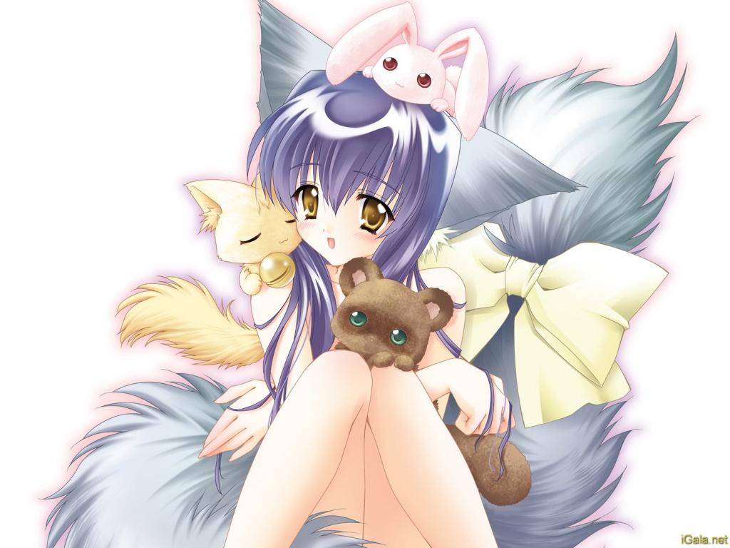 Anime wolfgirlo o
