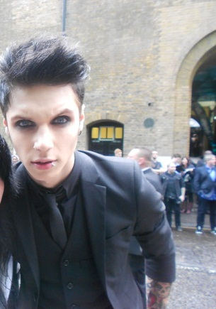Andy Biersack Images 33333andy33333 Wallpaper And