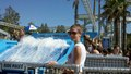 August 14 - At Raging Waters Water Park, California