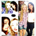|BTS| With Dove Cameron and Robin Tunney - robin-tunney photo