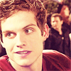 Daniel Sharman picha with a portrait entitled Daniel