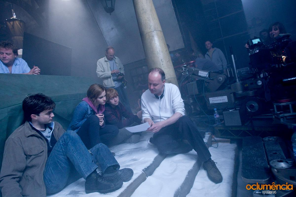 Deathly Hallows Part II BTS Photo