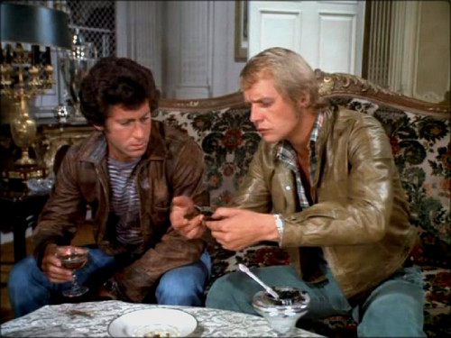 Starsky and Hutch (1975) Обои probably containing a holiday dinner, a dinner, and a ужин таблица titled ☆ Starsky & Hutch ☆