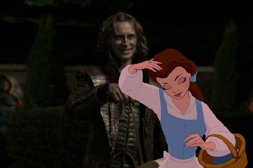 """You've got something in your hair, dearie!"""
