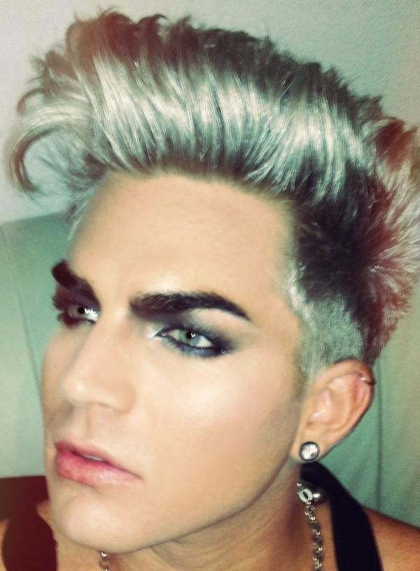 Adam Lambert Hair Tutorial  Hairstyle Inspiration For Men  Perfect Mens Hair By Slikhaar TV