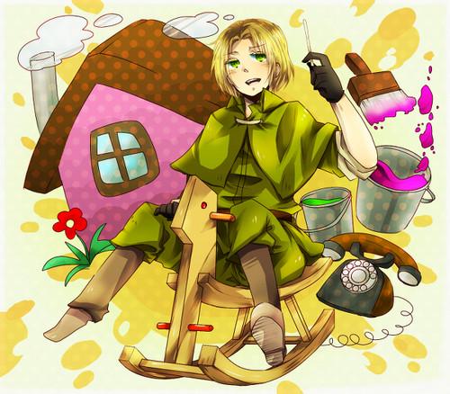 Hetalia Poland hình nền probably with anime entitled はぴば!