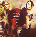  - peeta-mellark-and-katniss-everdeen fan art
