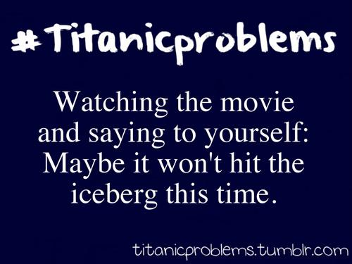 #titanicproblems