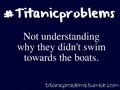 #titanicproblems - titanic fan art