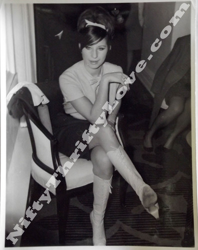 1966 Barbra Streisand Original Press Release foto