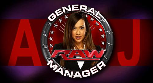 AJ Lee-Raw GM