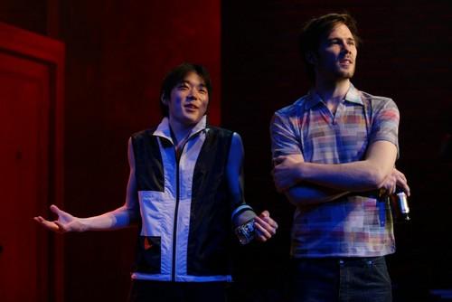 Aaron Yoo and Luke Macfarlane