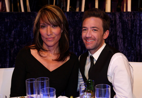 Actress Katey Sagal and Actor David Faustino