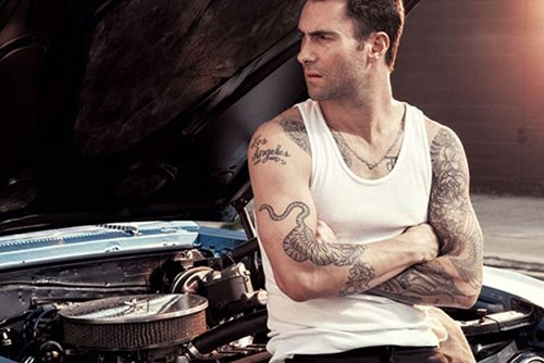 Adam Covers Ink September 2012 - adam-levine Photo