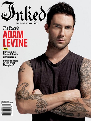 Adam Covers Ink September 2012
