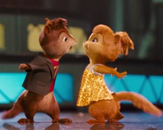 The Chipettes and Chipmunks images Alvin and Brittany ...