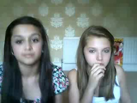 Amy-Leigh Hickman and Mia McKenna Bruce! <3