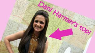 Amy wearing Dani's चोटी, शीर्ष <3