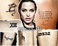 Angie's tattoo - angelina-jolie photo