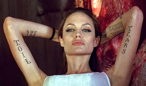 Angie's tattoo - Angelina Jolie Photo (31835259) - Fanpop