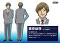 Anime Prime Minister Fujiwara