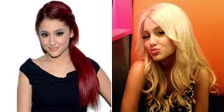 Ariana with Blonde Hair