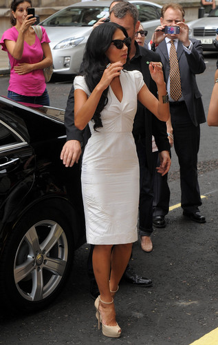 Arriving At The X Factor Press Launch At The Corinthia Hotel In লন্ডন [16 August 2012]