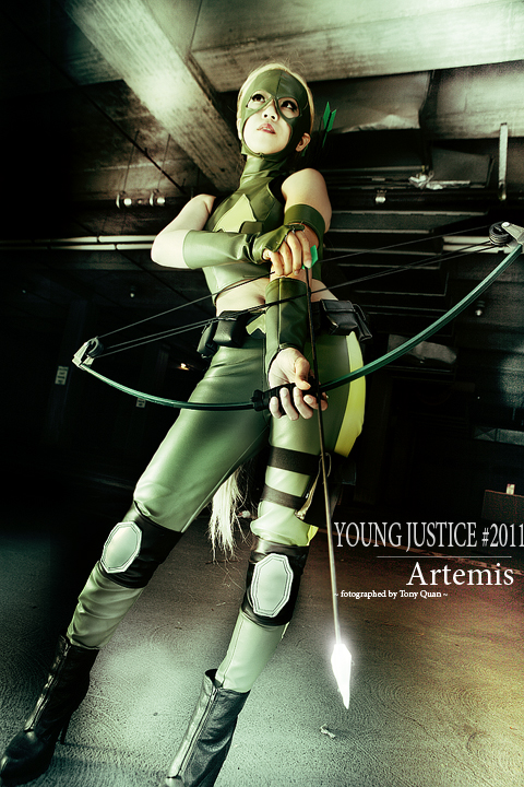 Artemis Cosplay - Young Justice Photo (31873380) - Fanpop