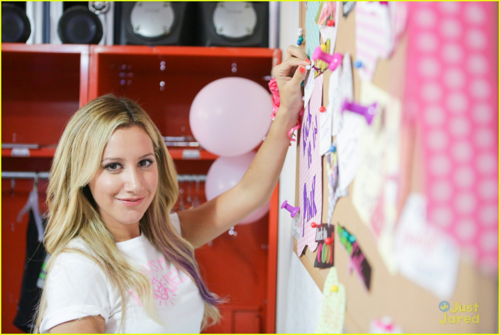 Ashley - At the shot for Project Pink - August 16, 2012 - ashley-tisdale Photo