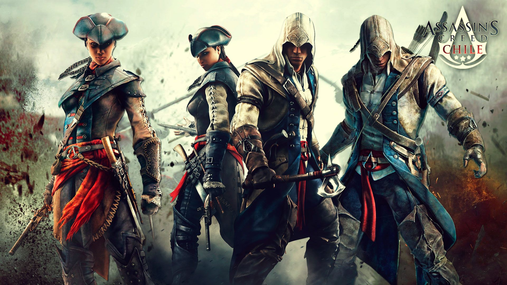 Assassin S Creed 3 The Assassin S Wallpaper 31806225 Fanpop