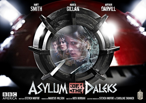 Asylum of the Daleks poster