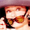 Audrey Hepburn photo possibly containing a fedora, a boater, and sunglasses called Audrey