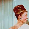 Audrey Hepburn photo with a portrait entitled Audrey