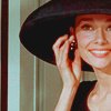 Audrey Hepburn photo with a fedora titled Audrey