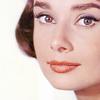 Audrey Hepburn picha with a portrait entitled Audrey
