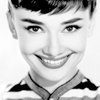 Audrey Hepburn photo containing a portrait entitled Audrey