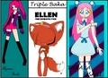 Ayame Suko, Tanaka Usagi, ELLEN -TRIPLE BAKA!!