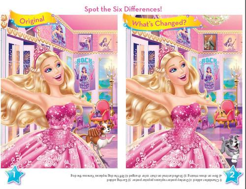 B.com's Princess booklet